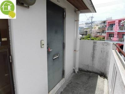 【玄関】パステルマンション大城