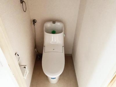 シンプルで使いやすいトイレです。