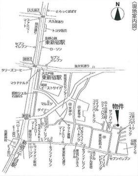 【地図】名取邸