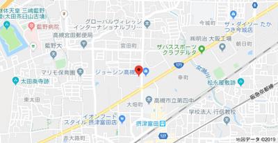 【地図】ヴィラ大畑 (株)Roots