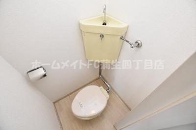 【トイレ】ラ・フォーレつるみ