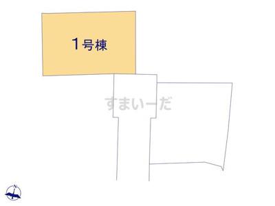 【区画図】リーブルガーデンS長浜市第9宮司町