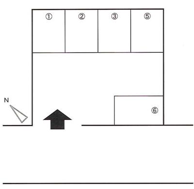 【区画図】井上駐車場