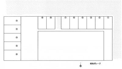 【区画図】靖和ガレージ