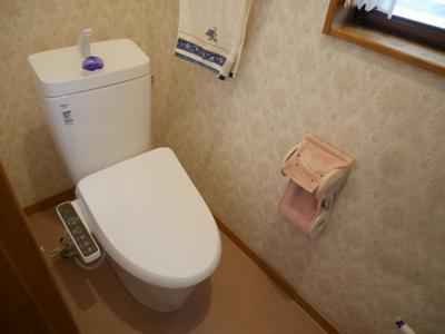【トイレ】津山市押入 中古住宅 3DK+離れ