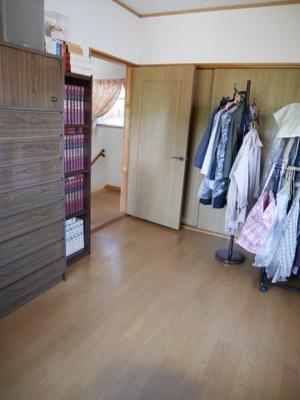 【洋室】津山市押入 中古住宅 3DK+離れ