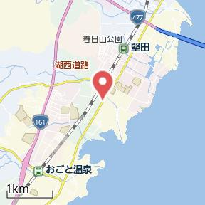 【地図】レンタルスペース310 堅田
