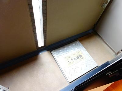 【バルコニー】ルーブル永福町弐番館