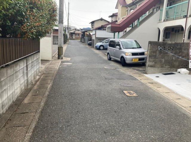 【前面道路含む現地写真】ケイアイフィット早良区小田部2期1号棟 4LDK