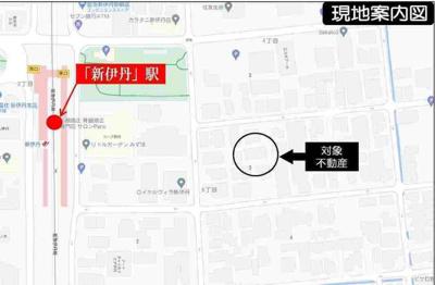 【地図】満室稼働中!!駅近一棟物件!!