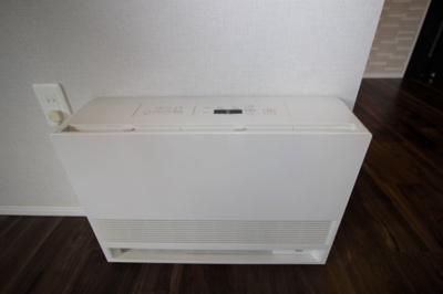 ガス暖房器具です。