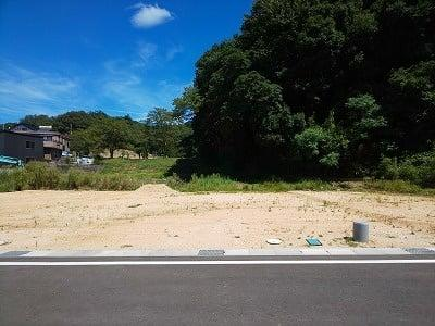 【区画図】鳥取市国府町奥谷分譲地 3号地