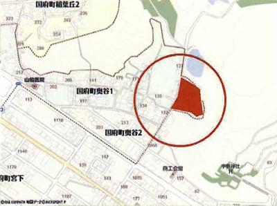 鳥取市国府町奥谷分譲地 5号地