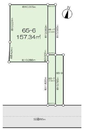 売地 土地面積 212.64㎡(64.32坪)建築条件なし JR京浜東北線「鶴見」駅バス9分 バス停徒歩7分 引渡し即時 アパート用地、広々としたお庭付きの一戸建て用地