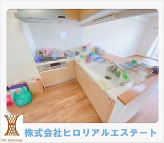 【キッチン】メゾンドール明石山ノ手台B棟
