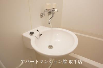 【洗面所】レオパレスアズミール