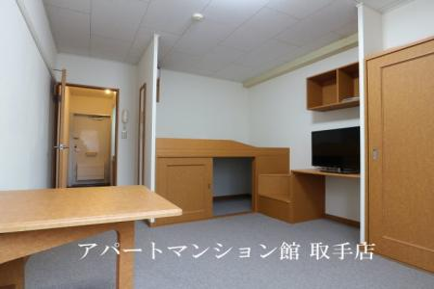 【居間・リビング】レオパレスプライム