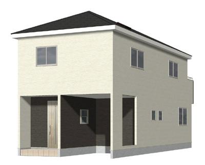 完成予想3Dパース:三郷新築ナビで検索♪