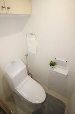 ウォシュレット一体型トイレです(新規交換済)