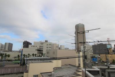 南側バルコニーからの眺望です。