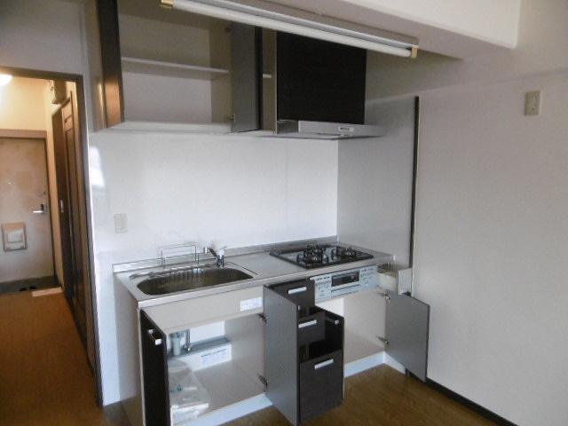キッチンでお料理をお楽しみください(同物件別室写真です)