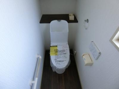 【トイレ】取手市戸頭2丁目 中古戸建