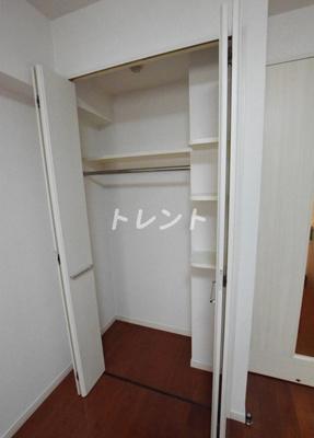 【収納】ラグジュアリーアパートメントデュオ神楽坂