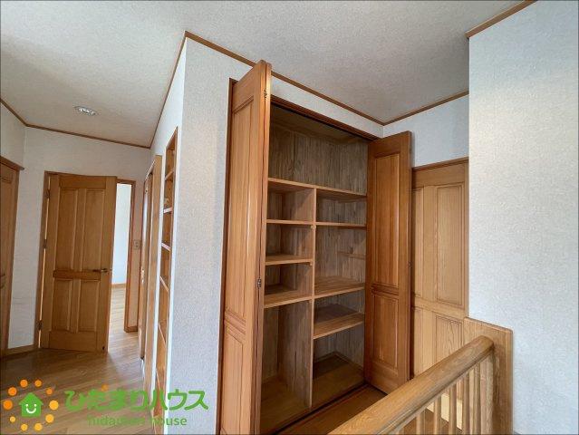 収納が多くお家がすっきり片付きます!!