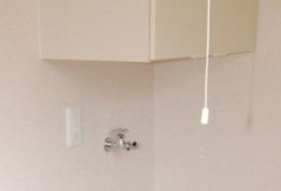 収納&室内洗濯機置き場