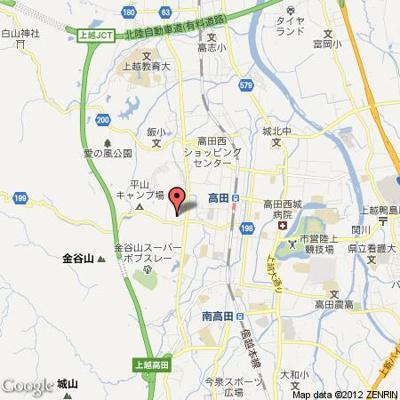 【地図】ハイツサンヒルズ