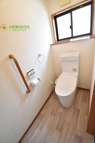 【トイレ】上尾市小泉9丁目 中古一戸建て
