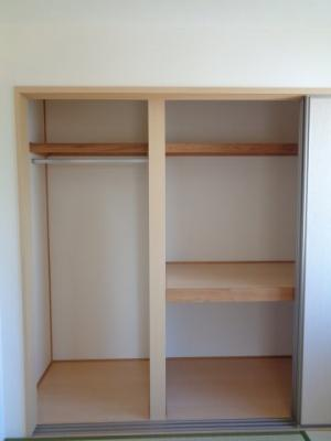 和室6帖の収納スペース ※反転タイプ