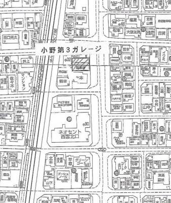 【地図】小野第三ガレージ