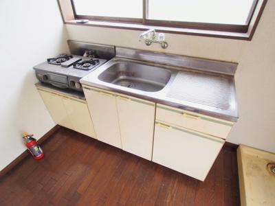 【キッチン】築地アパート
