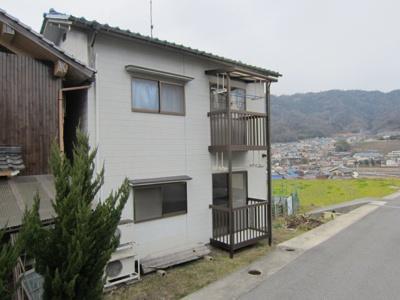 【外観】築地アパート