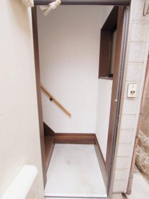 【玄関】築地アパート