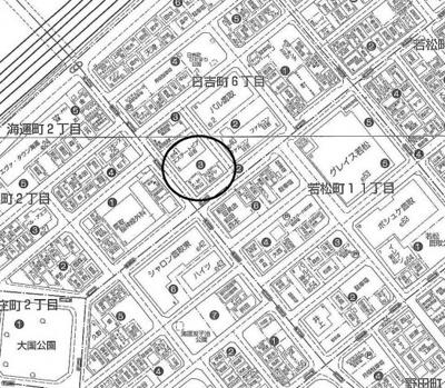 【地図】エステートピア日吉駐車場