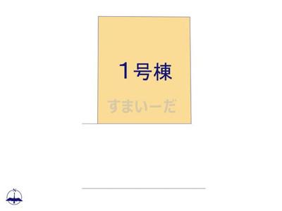 【区画図】クレイドルガーデン八尾市南本町第8
