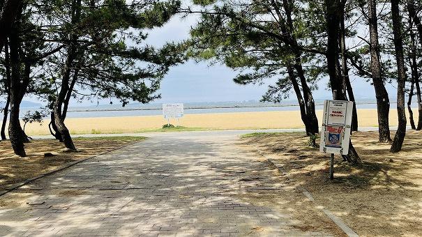 マリナタウン海浜公園まで徒歩2分。