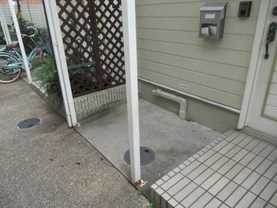 専用の駐輪スペースです