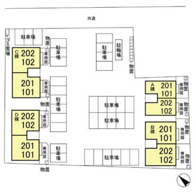 【区画図】ベルボナール A