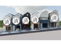 G・Aレジデンス 横浜市神奈川区西寺尾3丁目 新築戸建ての画像
