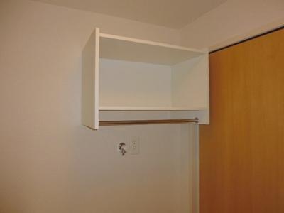 洗濯機置場 棚