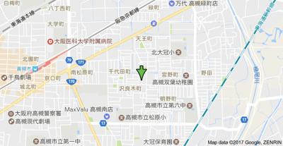 【地図】シティハイツHISA