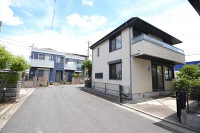 【前面道路含む現地写真】堺市北区長曽根町 戸建