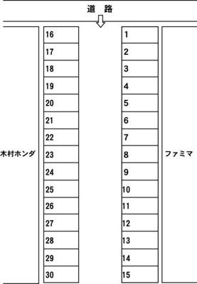 【内装】マルセ第2駐車場