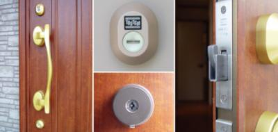 ピッキング犯罪を防止する防犯型玄関錠です。玄関には二重のディンプルキータイプの鍵を、さらにバールなどでこじ開けられにくい鎌デッド錠やサムターン回し防止タイプを採用しています。