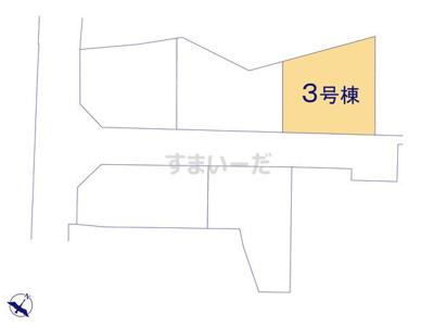 【区画図】リナージュ守山市立田町20-1期