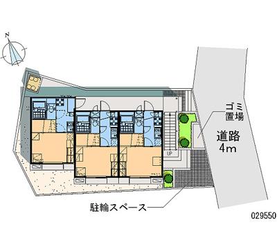 【地図】エレガンテ