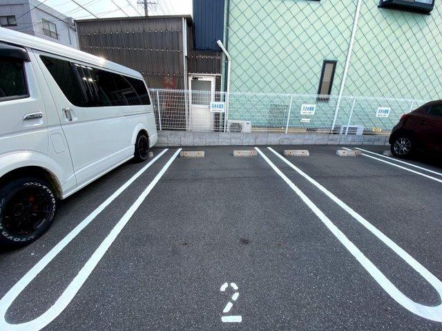駐車区画の写真です